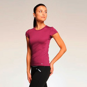ALO Womens Performance Mesh Back Tee
