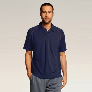 ALO Mens Performance Raglan Polo
