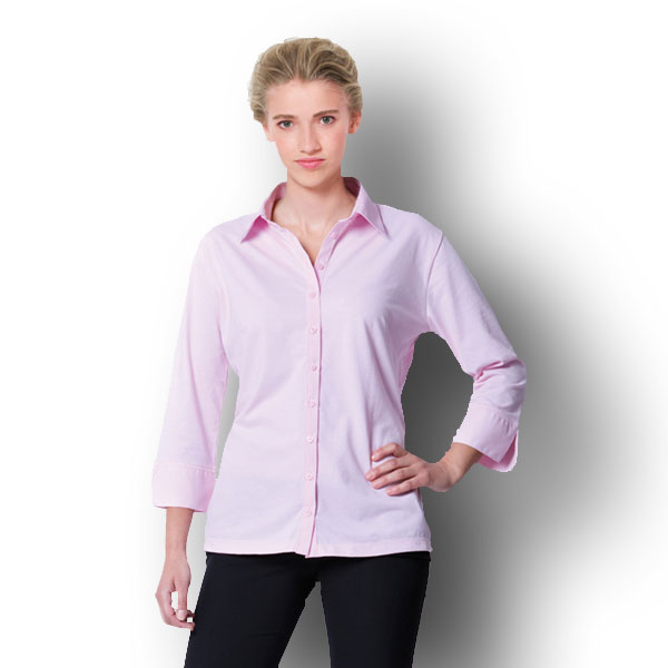 Stretch Bluse mit 3/4 Arm