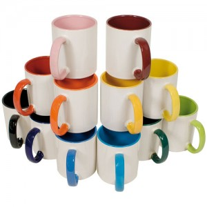 2-Farb-Tasse