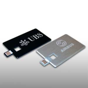 USB Stick Credit Card Alloy